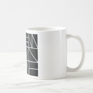 Square Dance ( line minimalism ) Basic White Mug