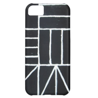 Square Dance line minimalism Cover For iPhone 5C