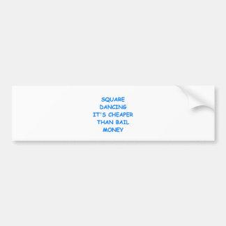 square dancing bumper stickers