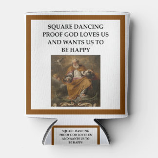 square dancing can cooler