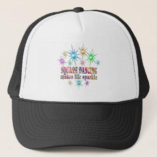 Square Dancing Sparkles Trucker Hat