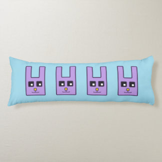 Square Easter Bunny Body Pillow
