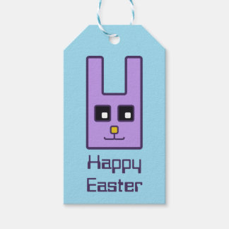 Square Easter Bunny Gift Tags