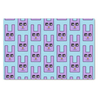 Square Easter Bunny Tissue Paper