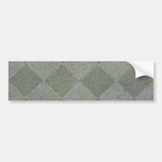 Square Floor Tiles Texture Background Bumper Sticker