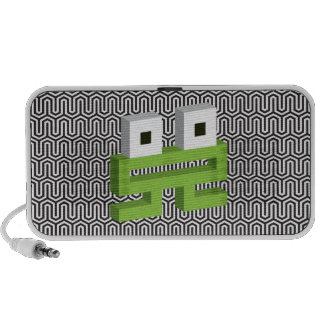 Square frog mini speakers