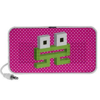 Square frog travelling speaker