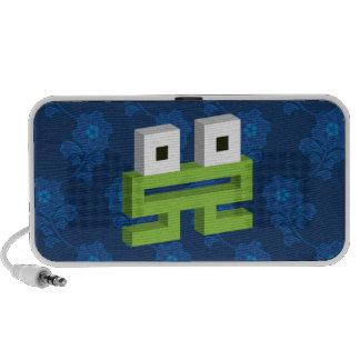 Square frog iPod speaker
