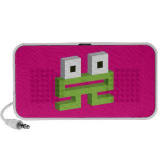 Square frog portable speaker