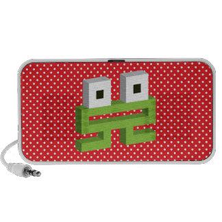 Square frog travel speaker