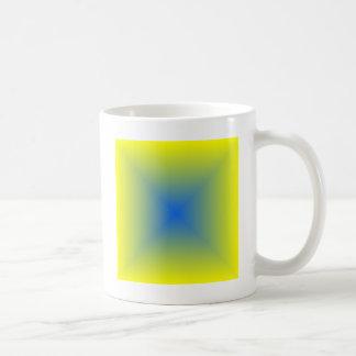 Square Gradient - Yellow to Blue Coffee Mug