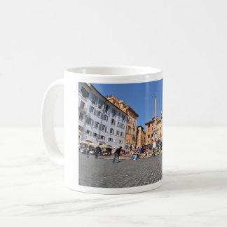Square in Rome, Italy Coffee Mug