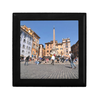 Square in Rome, Italy Gift Box