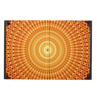 Square Infinity Mandala iPad Air Covers
