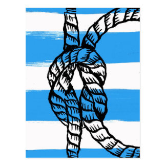 Square Knot Post Card