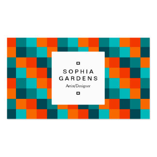 Square Label 03a - Color Squares 01 Business Cards