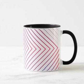 Square lines patterns Mug