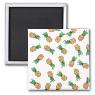 Square Magnet Pineapple