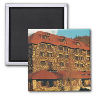 Square Magnet with Grove Park Inn