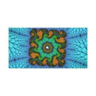 Square Mandelbrot Set Canvas Print