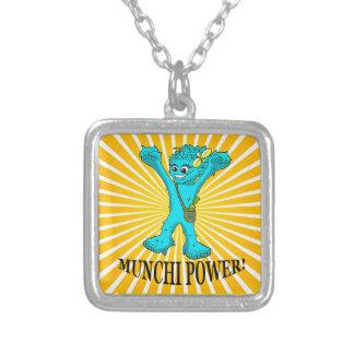 Square Necklace Munchi Power! - MRS MUNCHI ENERGY
