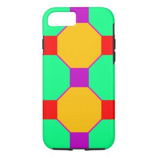 Square Octagons Design Tough I Phone 6 iPhone 7 Case