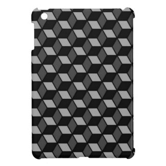 square optical illusion iPad mini cover