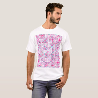 Square Pattern Gradient Man Shirt