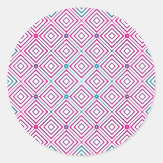 Square Pattern Gradient Sticker