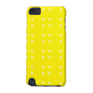 Square Pattern yellows iPod Touch (5th Generation) Cases