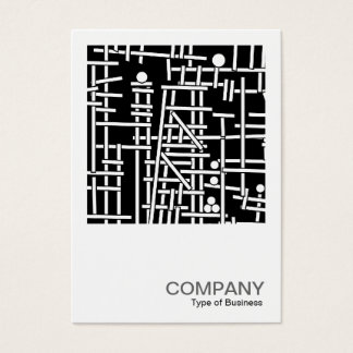 Square Photo 081 - Odd Ball Structure Business Card