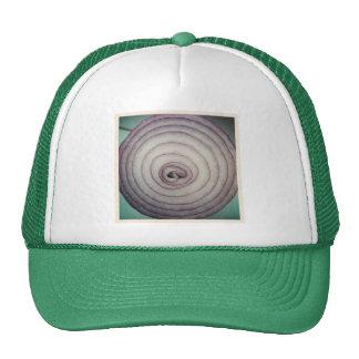 Square Photo - Red Onion Cap