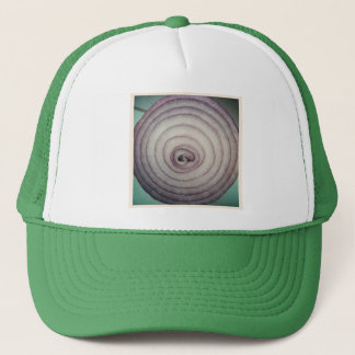 Square Photo - Red Onion Trucker Hat