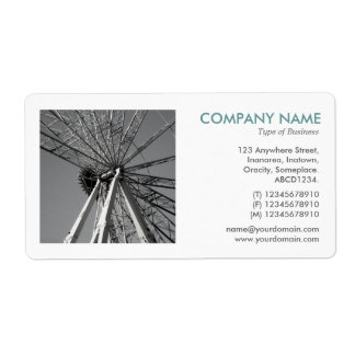 Square Photo - Reinventing the Big Wheel Shipping Label