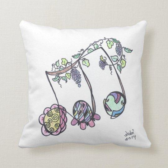 square pillow--triplets cushion