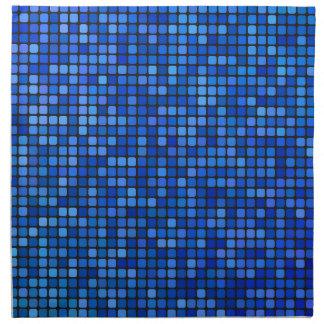 square pixel napkin