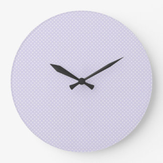 Square Polka Dot Wall Clock