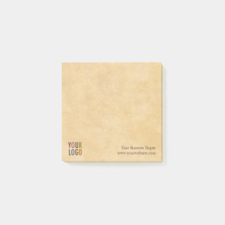 Square Post-it® Notes with Company Logo No Minimum