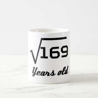 Square Root Of 169 13 Years Old Coffee Mug
