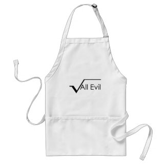 Square Root of All Evil Aprons