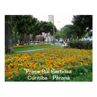 Square Rui Barbosa Postcard