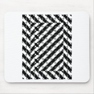 Square Shape Optical Illusion Mouse Pad