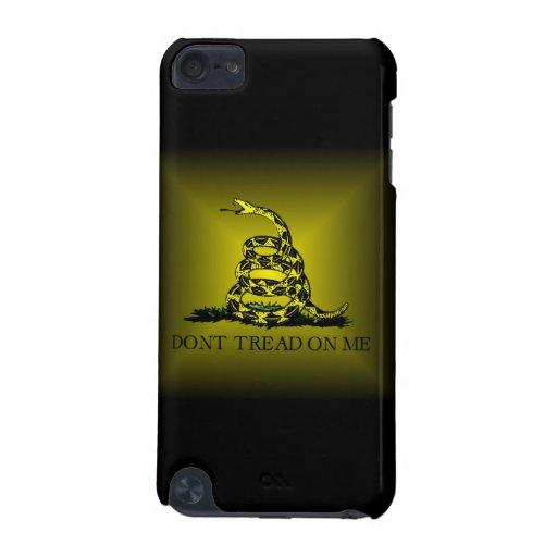 Square Sunburst Gadsden Flag iPod Touch 5G Cover