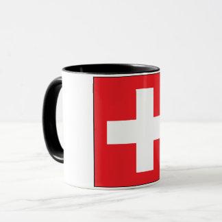 Square Swiss Flag Mug