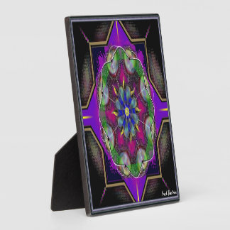 Square Tabletop Plaque with Easel