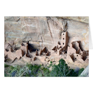 Square Tower House Cliff Dwelling Note Card