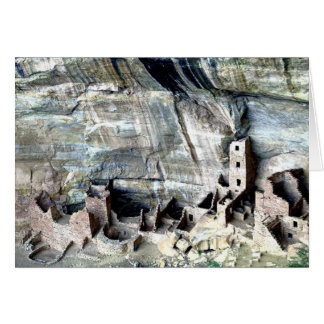 Square Tower Mesa Verde Card