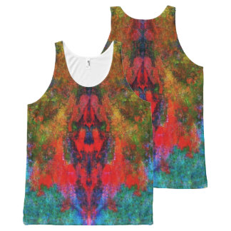 Square / Unisex - All-Over Print Singlet
