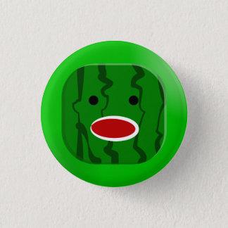 Square Watermelon 3 Cm Round Badge