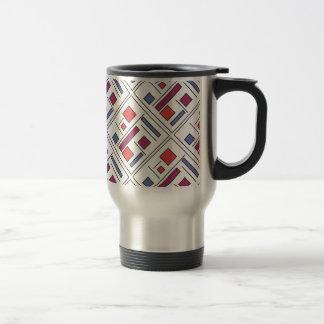 Square With Geometric Shapes - Modern Art Coffee Mug